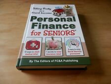 Sitting Pretty on a Fixed Income, Personal Finance for Seniors NEW Hardcover