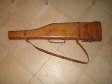 Vintage Gun Case Etui à fusil cuir