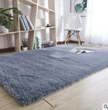 New 6 Colors Shaggy Area Rugs Solid Colors Contemporary Living Room Carpet Decor