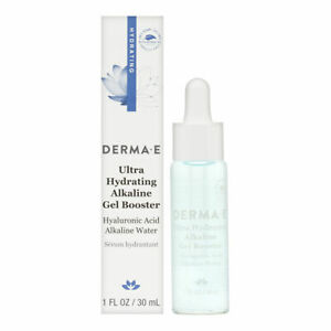Derma E Ultra Hydrating Alkaline Gel Booster 1.0 oz Brand New