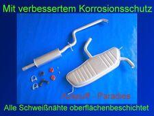 Abgasanlage Auspuffanlage Auspuff für Audi A3 1.6 Typ 8P1 3 - Türer + Anbaukit
