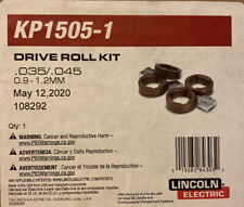 New listing Lincoln Electric Kp1505-1 Drive Roll Kit .035, .045 (0.9, 1.2 mm) Solid Wire