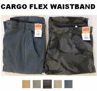 Men's Wrangler Comfort Flex Waistband Cargo Pant Tech Pocket - All Sizes