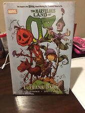 Marvelous Land Of Oz Marvel Oversized Hardcover Brand New Skottie Young