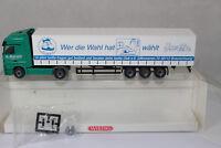 sw2173, WIKING Werbemodell MB Actros GPL-SZ Spedition D. Stürmer ISETTA BOX mint