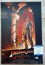 Steven Spielberg Autographed Signed 12x18 Indiana Jones Photo Beckett Certified