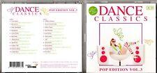 RARE  Dance ClassicsPop Edition Vol. 32 CDRDM2262010 22-TRACK MAXI VERSIONS