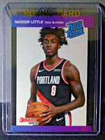 Nassir Little 2019-2020 Panini NBA Instant Rated Rookie Retro Card