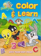 Baby Looney Tunes Color and Learn Abc 123 (Coloring & Activity Book) (Easy Tear