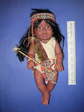 Cathay Collections Female Indian/Native American Plastic Doll 16in.