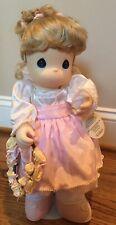 "NWT Precious Moments 15"" 1999 Sweetheart Doll Blonde Makenzie #1049"