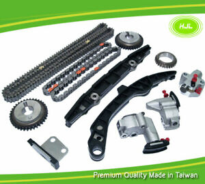 Timing Chain Kit For Nissan 370Z Infiniti QX70 Q50 G37 3.7 VQ37VHR 2008-14