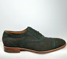 John Fluevog The Gateways Green Suede Oxfords Shoes Men US 13