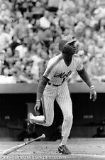 Original 35MM B&W Negative, NY Mets Darryl Strawberry
