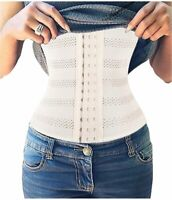 SAYFUT Weight Loss Hourglass Waist Trainer Body Cincher, Nude, Size X-Large fTsf