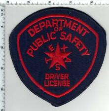 Dept of Public Safety Driver License (Texas) Shoulder Patch from the 1980's
