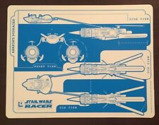 Anakin Skywalker Pod Racer Podracer Star Wars Episode I Racer Diagram Display