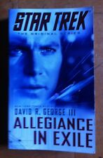 Star Trek the Original: Allegiance in Exile by David R. George III (2013)