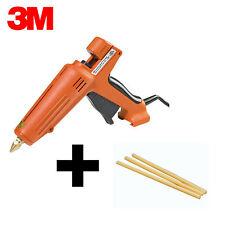 """Brand New 3M Scotch-Weld AE II Glue Gun + 10 Ea. 3750 AE Tan 1/2"""" x 10"""" Sticks"""