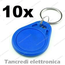 10X Tag token rfID 13.56 MHz per lettore RC522 compatibile NFC Arduino PIC Atmel