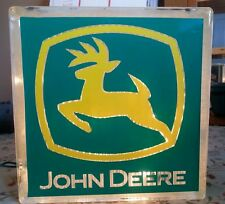 Personalized Lighted John Deere Glass Block Light~ Home Decor~Gift~Lamp