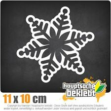 Schneeflocke Design 2 csf0622 11 x 10 cm JDM  Sticker Aufkleber