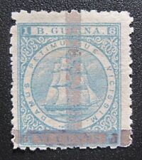 Mint 1878 British Guiana MH OG with Certificate