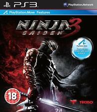 Ninja Gaiden 3 Disque Dur PS3 new & sealed factory sealed UK gratuit frais de port.