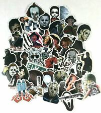 50pcs Scary Movie Jason Freddy Pennywise Stickers Laptop Wall Decal Sticker Pack