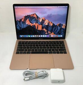 """MacBook Air MRE82LL/A 13"""" 1.6 GHz Core i5 8GB Ram 128 SSD Rose Gold - Late 2018"""