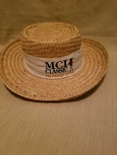 MCI Classic The Heritage of Golf Panama Style Straw Hat