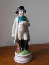 """Statuette porcelaine Paris XIXème.""""Napoléon Bonaparte Empire"""" Antique porcelain"""