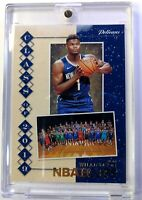 2019-20 Panini NBA Hoops Class of 2019 Winter Zion Williamson Rookie RC #7
