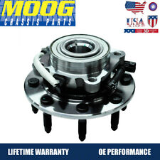 MOOG ABS Front Wheel Hub & Bearing Assembly for Chevy GMC Pickup Truck 8 Lug