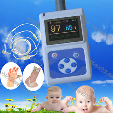 With Infant probe pulse oximeter,blood oxygen saturation,SPO2 monitor,pulse rate