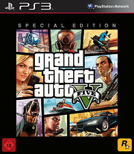 SONY PS3 Grand Theft Auto V 5 Special Edition GTA Steelbook PlayStation3 OVP