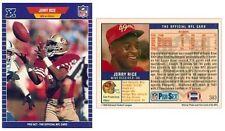 1989 PRO SET FOOTBALL #383 JERRY RICE