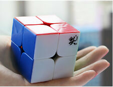 New Dayan Zhanchi 46MM 2x2x2 Magic Cube 2x2 Puzzle Spring Speed Rare Stickerless