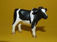 2) Schleich Schleichtiere Kalb Kälbchen schwarz weiß 13139