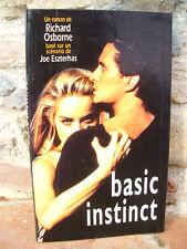 Basic instinct, Richard Osborne 1993 Roman noir