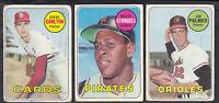 1969 TOPPS BASEBALL CARD LOT OF 351