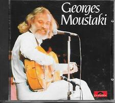 GEORGES MOUSTAKI - Georges Moustaki CD Album 12TR West Germany 1983 (POLYDOR)