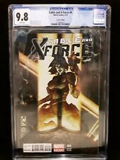 CGC 9.8 Cable & X-Force # 4 1:25 Bianchi Variant Rare Htf NM/MT Domino