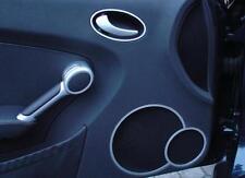 Mercedes SLK 171 R171 FL 280 200 350 AMG alu frame for loudspeeker door bordo