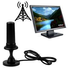 max. 36dB aktive DVB-T Verstärker Zimmer Antenne Magnetfuß digital SMART HD YT