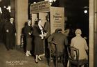 "1932 Prohibition Poll Booth Boston Massachusetts Old Photo 8.5"" x 11"" Reprint"