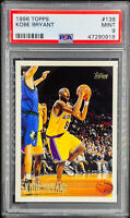 Kobe Bryant 1996-97 Topps #138 Rookie RC PSA 9 MINT Iconic Rookie Card Lakers 📈