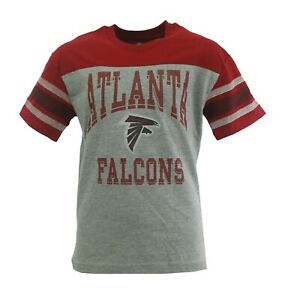 NFL Atlanta Falcons Kids Youth Size Distressed Apparel Official T-Shirt New
