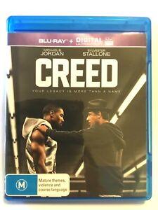 Creed Blu-ray - AS NEW