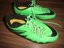 NIKE Hypervenom Fussballschuh GR 36 UK3,5 Stollen Neon grün